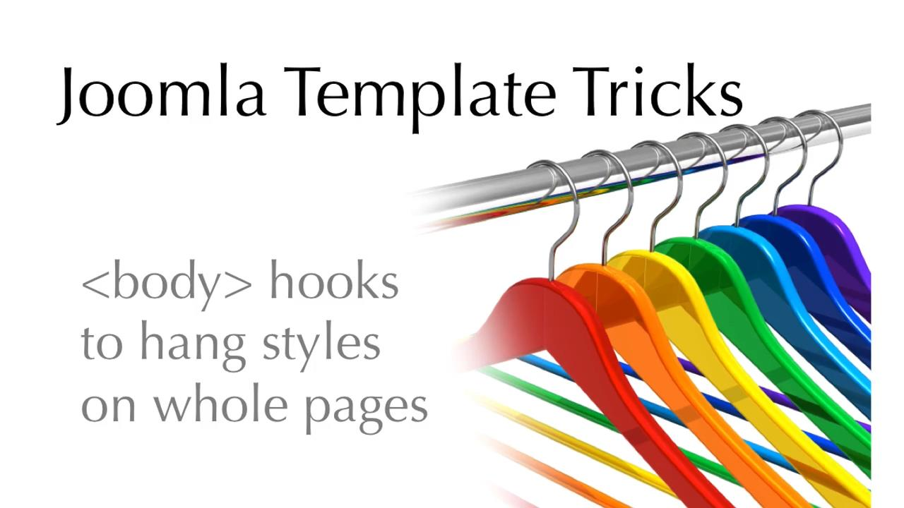OSTraining - Joomla Template Tricks