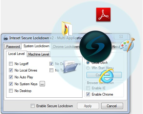 Inteset Secure Lockdown 2.0 Build 2.00.117 Multi Application Edition