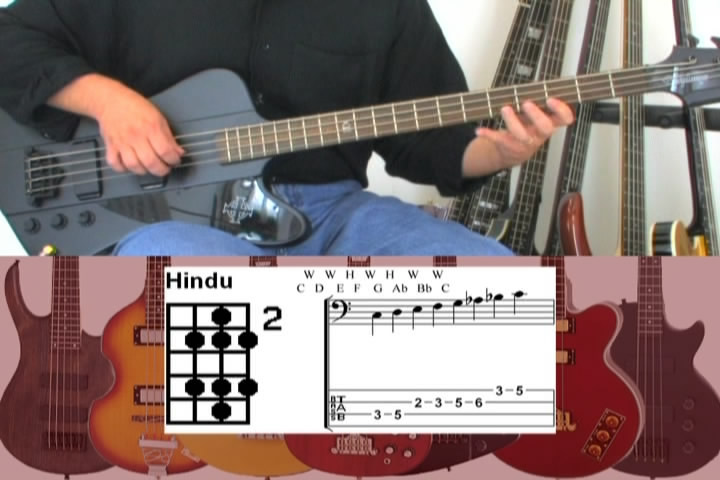 Easy Bass Guitar Scales DVD: Over 50 Common and Exotic Scales and Modes For Bass
