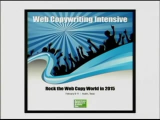 Web Copywriting Intensive 2015