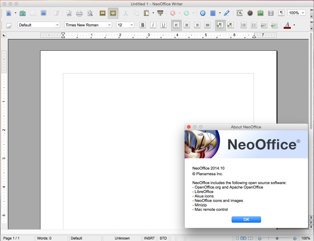 NeoOffice 2014.10 Multilangual Mac OS X
