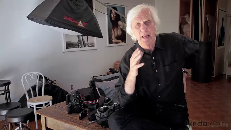 Lynda: Douglas Kirkland on Photography: A Photographer's Eye with Douglas Kirkland [repost]
