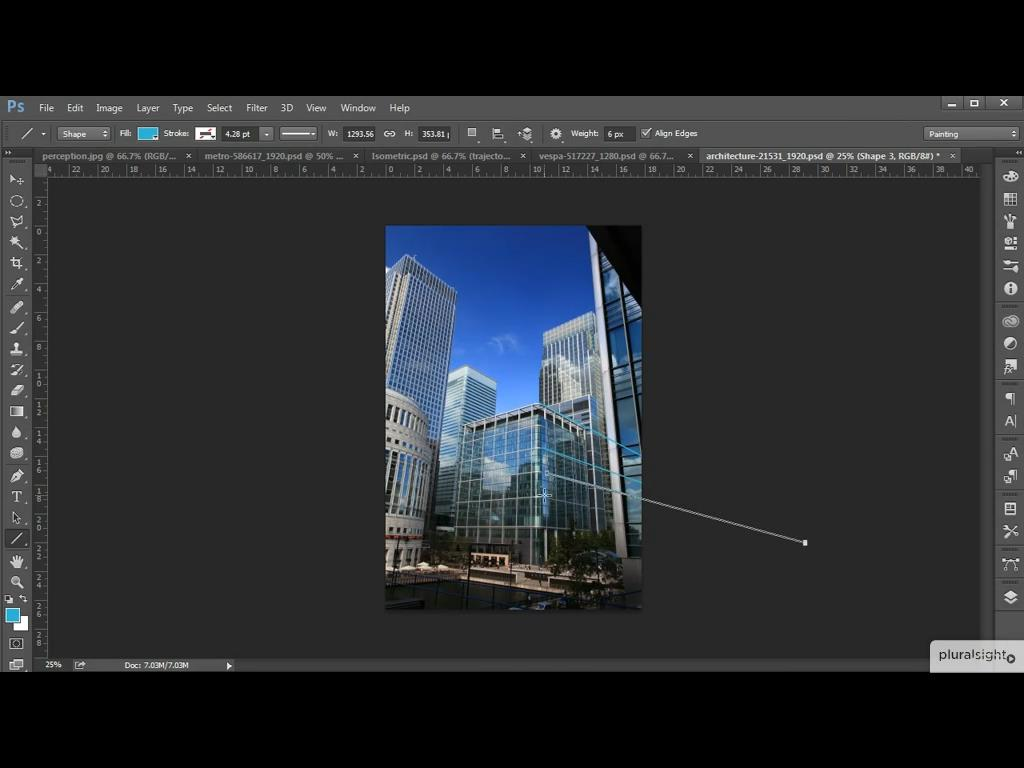 Creative Perspective Techniques for Artists in Photoshop CC
