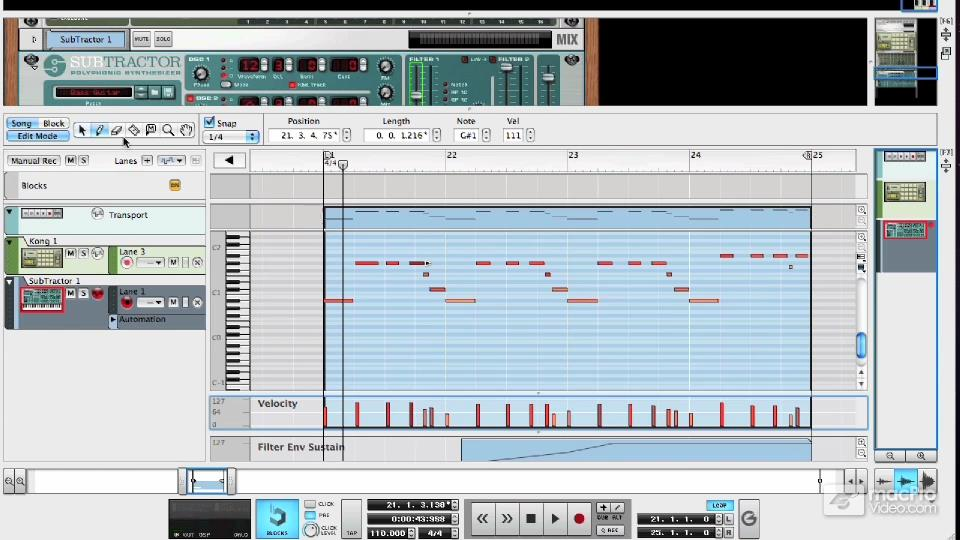 Reason 6 103: Working With MIDI by Hollin Jones