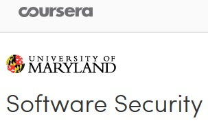 Coursera - Software Security