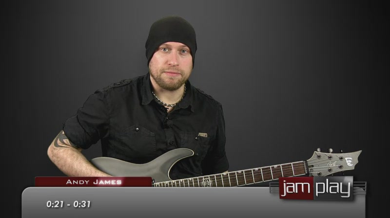 Andy James - JamPlay Shred