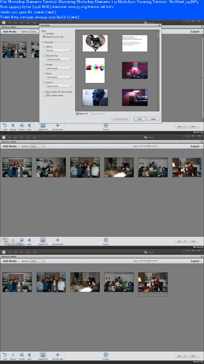 Mastering Photoshop Elements v.13 Made Easy Training Tutorial