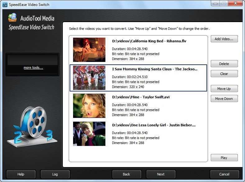 AudioTool Media SpeedEase Video Switch 5.0.1
