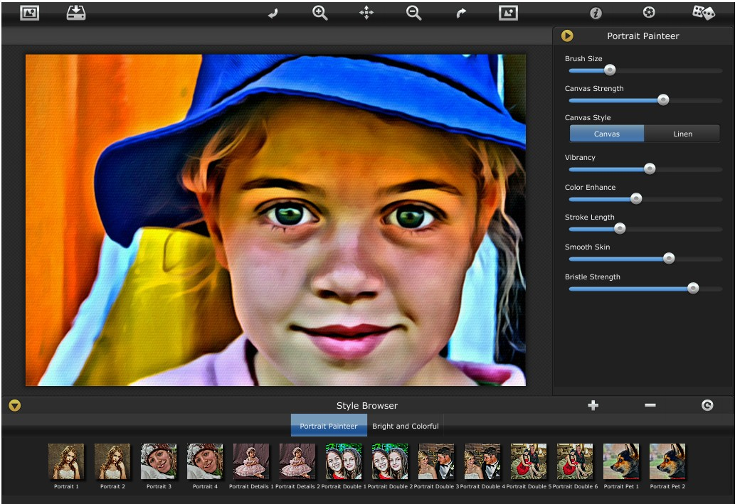 JixiPix Portrait Painter 1.20 Portable