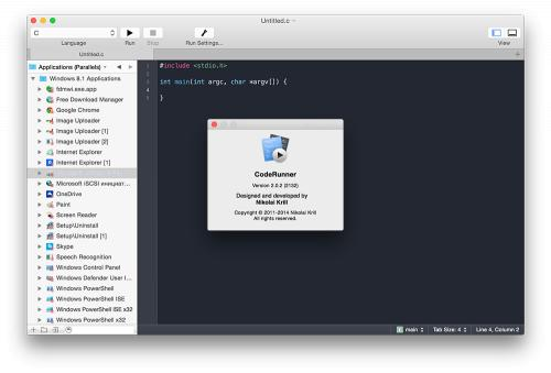 CodeRunner 2.0.2 (Mac OS X)