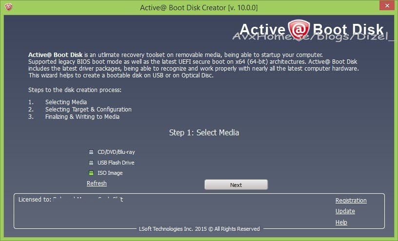 Active@ Boot Disk 10.0.0 Portable