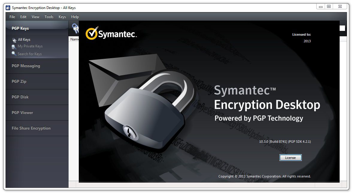 Symantec Encryption Desktop Professional 10.3.2 MP8 Multilingual