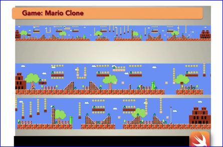Make Mario Game in iOS 8 Swift
