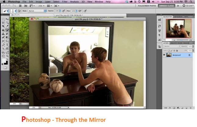Photoshop - Through the Mirror