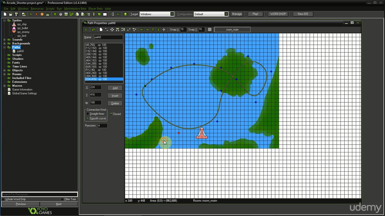 Udemy - Become a Game Developer in 2 hours with Game Maker: Studio