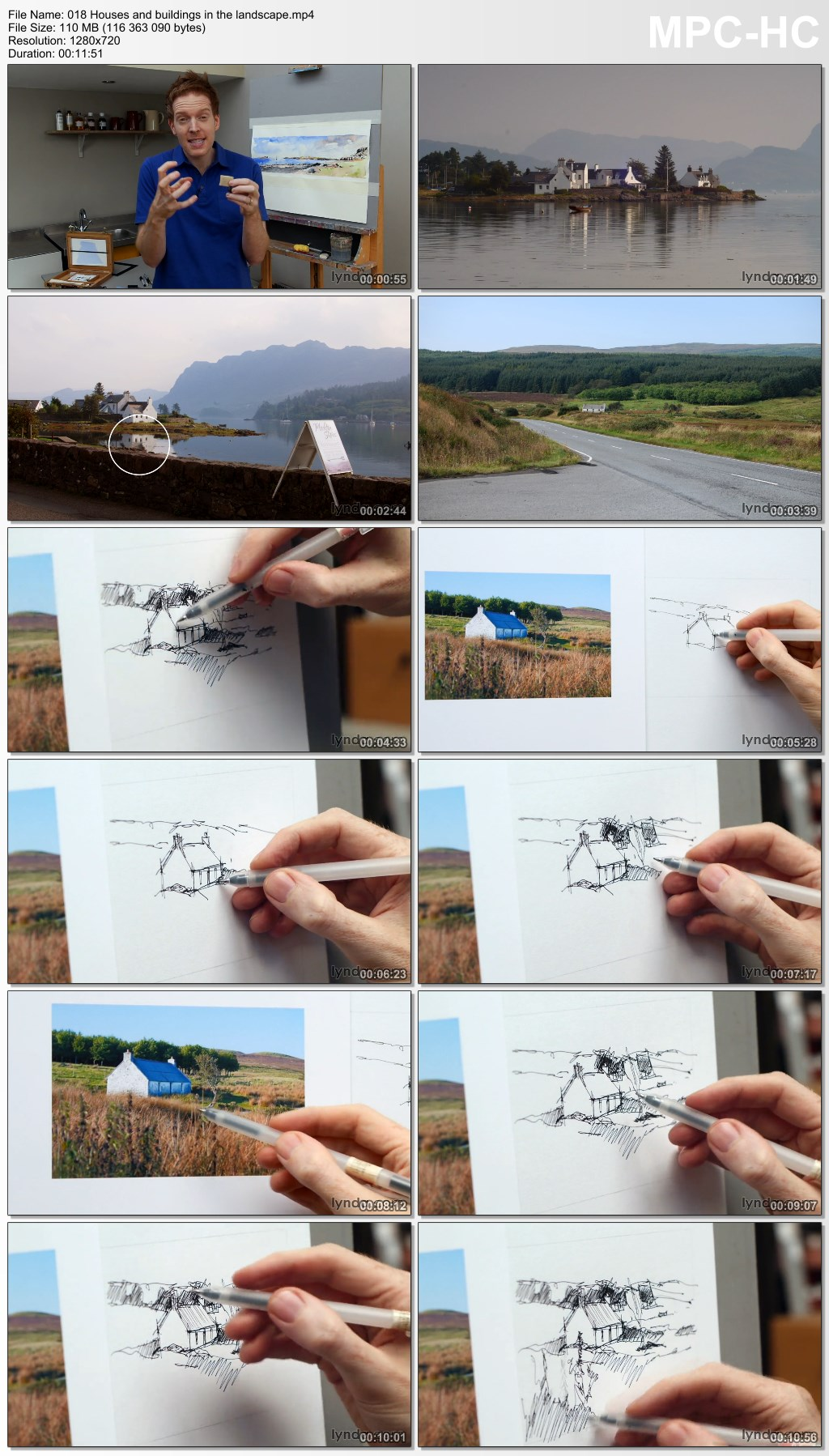Lynda - Foundations of Drawing: Sketching the Landscape