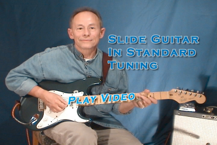 Slide Guitar In Standard Tuning
