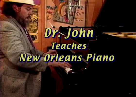 Dr John Teaches New Orleans Piano - Lesson One [repost]