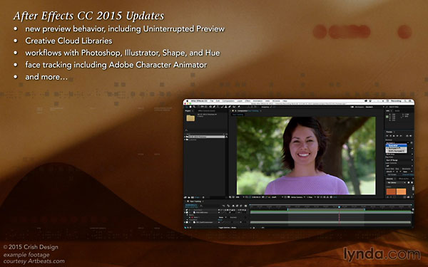 Lynda - After Effects: 2015 Creative Cloud Updates