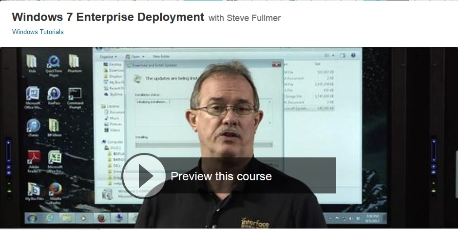 Lynda - Windows 7 Enterprise Deployment