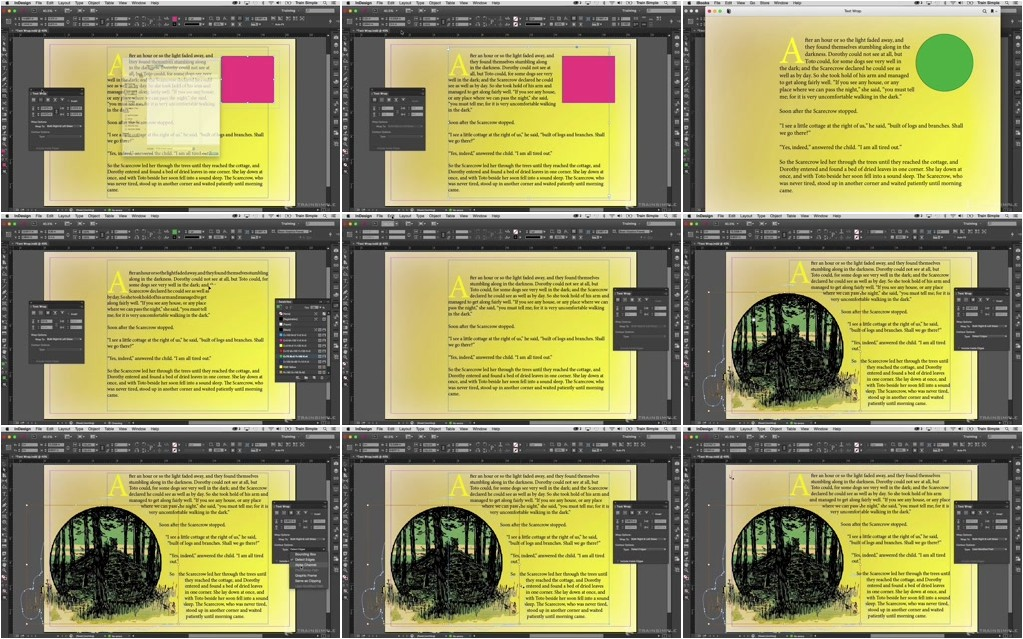 Train Simple - InDesign CC Creating Fixed-Layout eBooks
