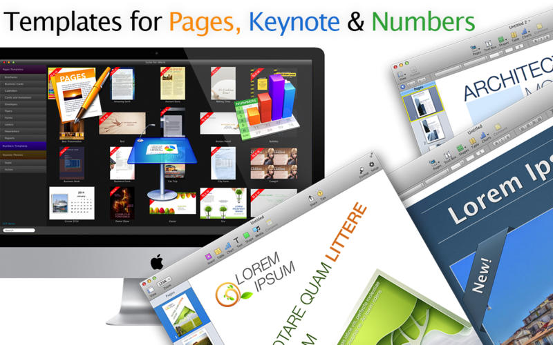 Suite for iWork 8.1 Mac OS X