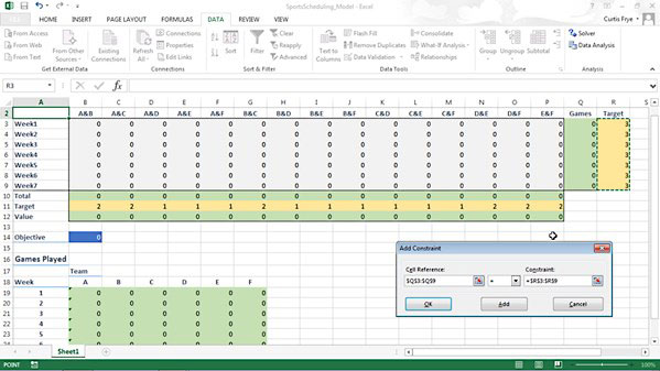 Lynda - Solving Optimization and Scheduling Problems in Excel