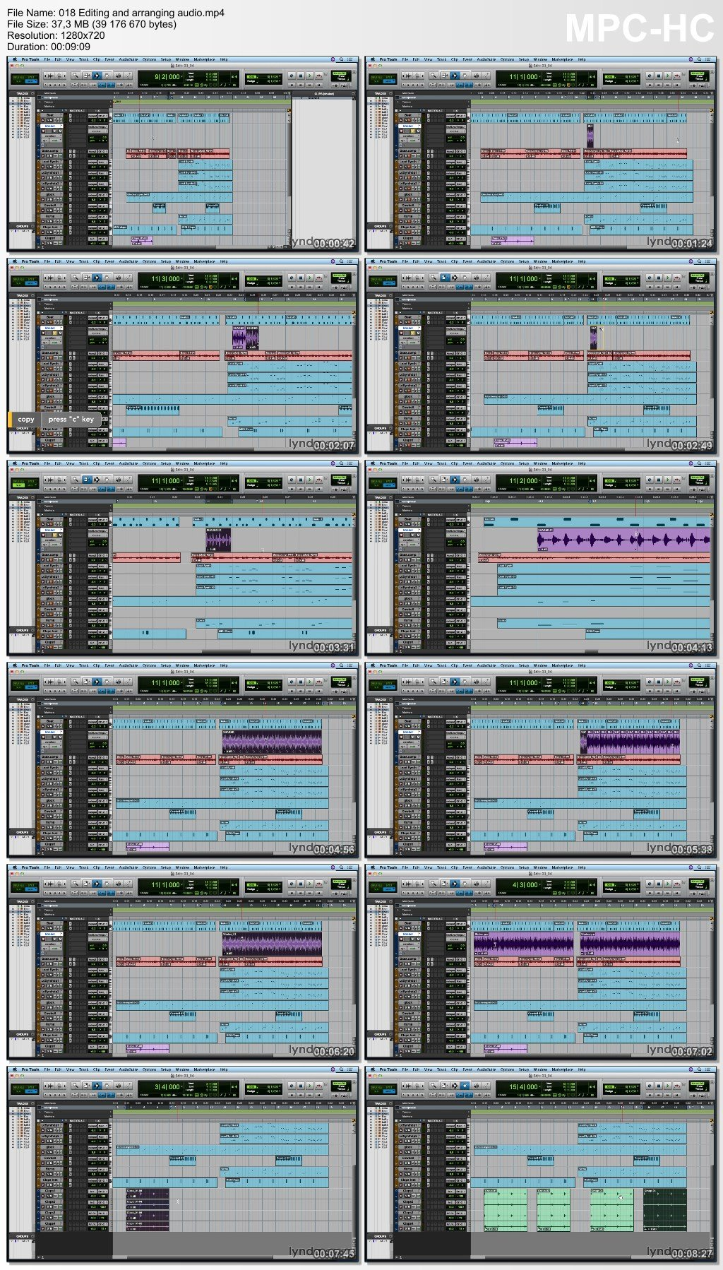 Lynda - Up and Running with Pro Tools