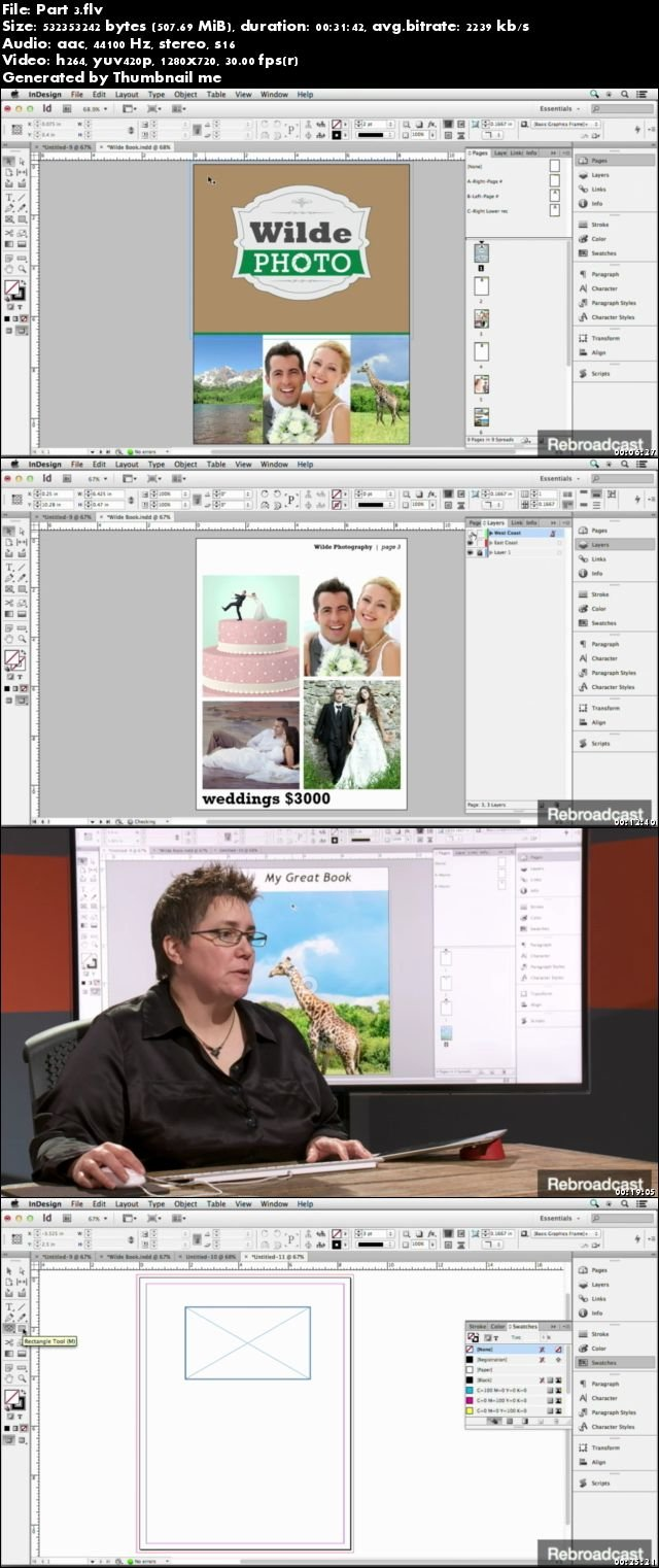 Illustrator & InDesign for Photographers