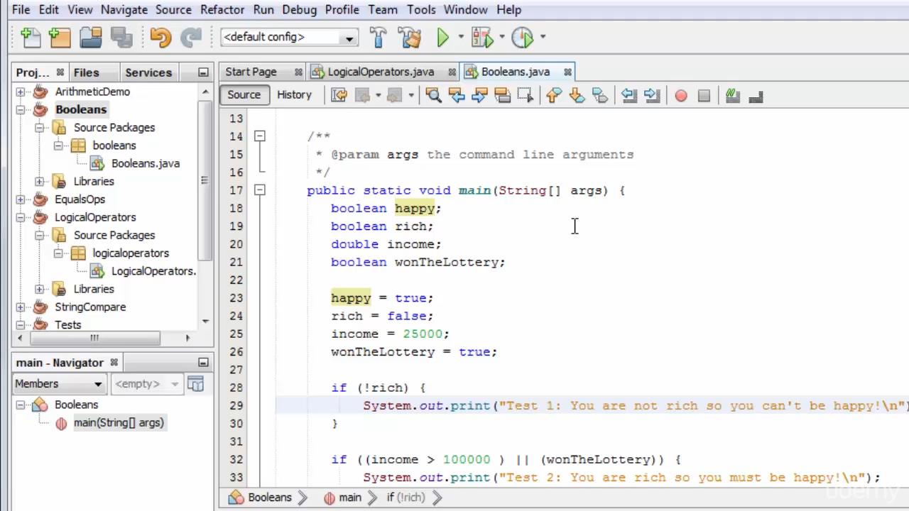 Java Programming – the Master Course
