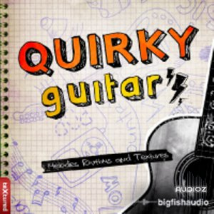 Big Fish Audio Quirky Guitars Vol.1 MULTiFORMAT DVDR-DYNAMiCS screenshot