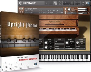 Native Instruments Upright Piano KONTAKT DVDR-DYNAMiCS screenshot