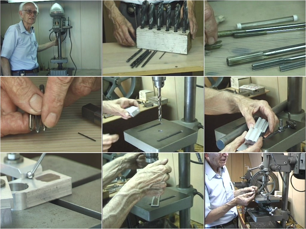 Rudy Kouhoupt - Drilling, Reaming, Tapping and Milling on the Drill Press