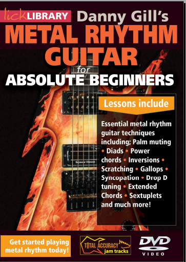 Lick Library - Metal Rhythm Guitar for Absolute Beginners (2015)
