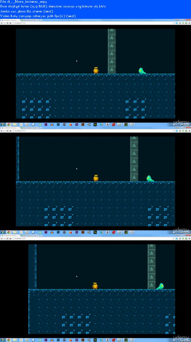 Learn Construct 2: Creating an Action Platformer in HTML5