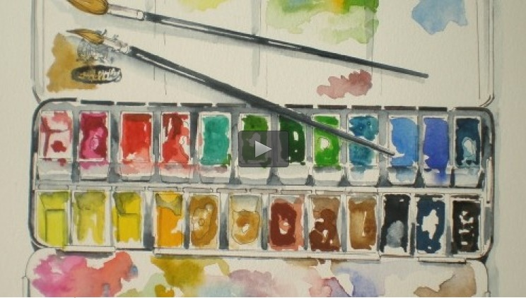 Udemy - Start WATERCOLOUR PAINTING EFFORTLESSLY, play & be creative