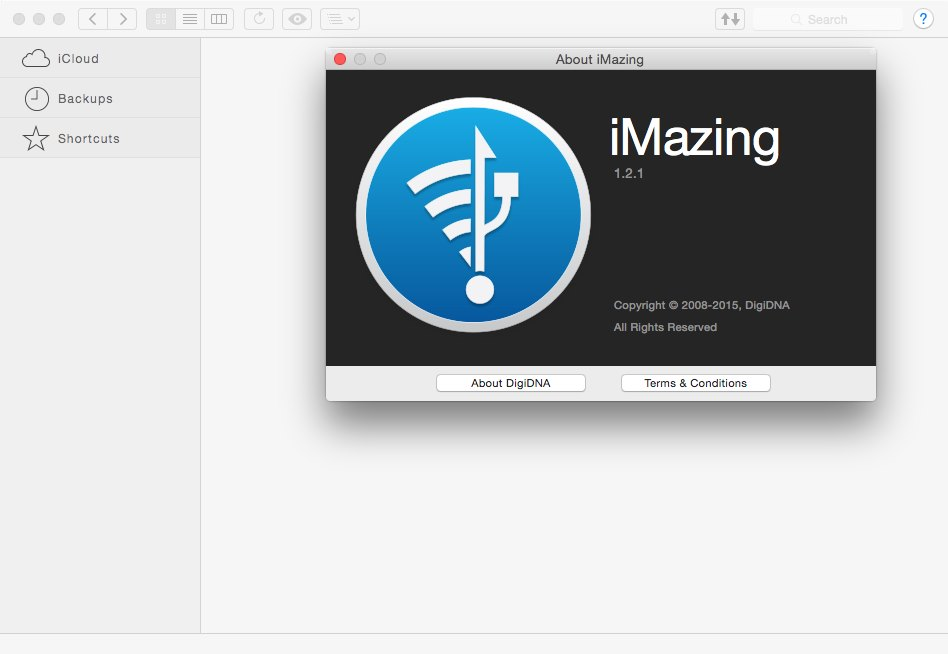 iMazing 1.2.1 Multilangual Mac OS X