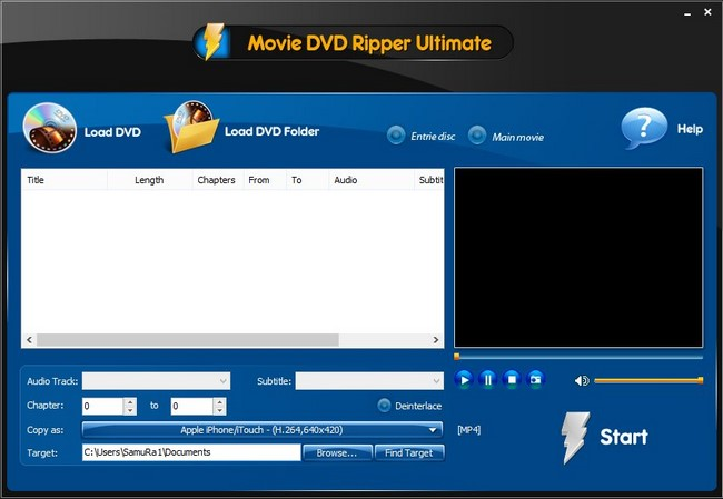 Movie DVD Ripper Ultimate 9.9.1
