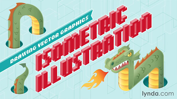 Lynda - Drawing Vector Graphics: Isometric Illustration
