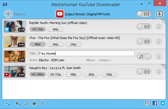 MediaHuman YouTube Downloader 3.8.1