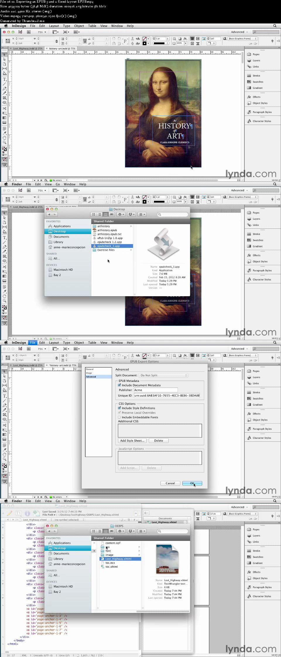 Lynda - InDesign CS6 New Features