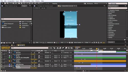Getting Started With Motion Graphics : Animate UI Designs With Adobe After Effect