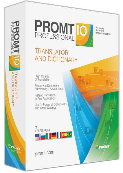 PROMT Dictionary Collection 10.0 Multilingual
