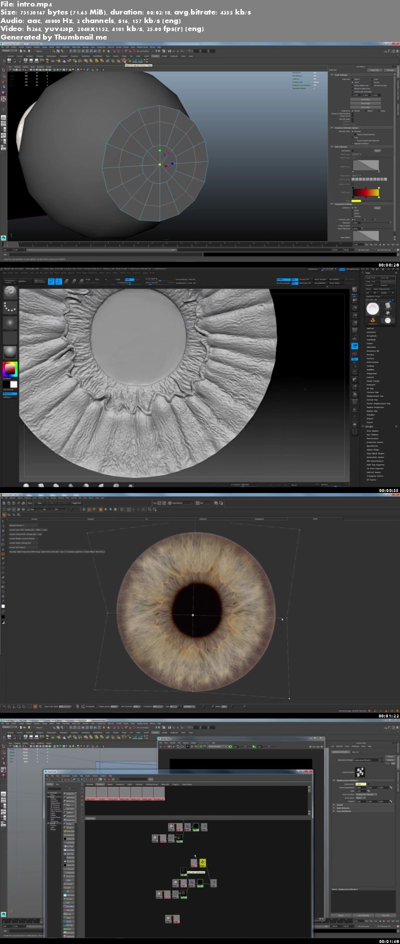 Creating a Realistic Human Eye in CG