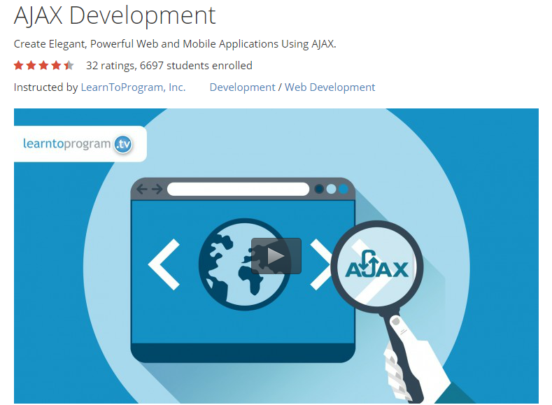 Udemy: AJAX Development (2015)