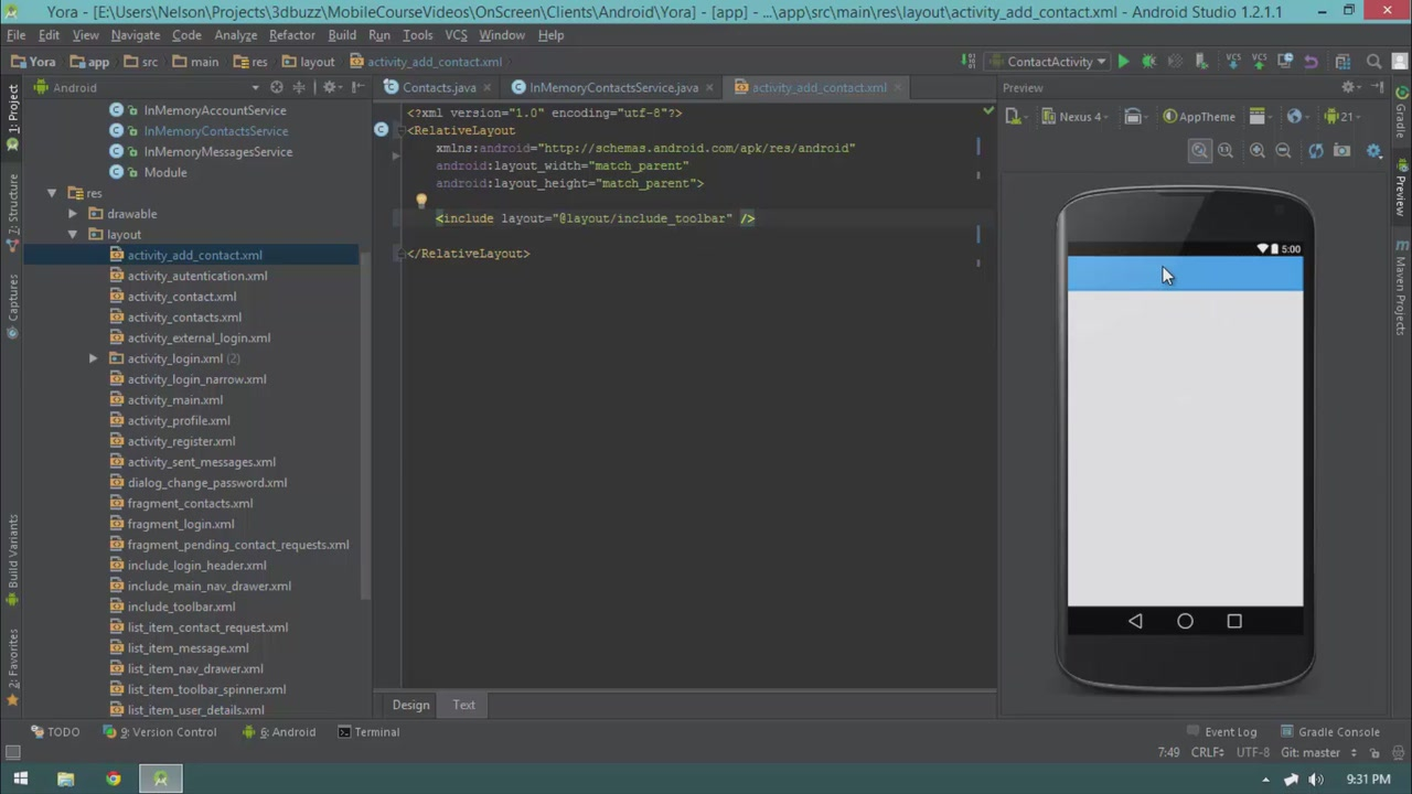 Udemy - Mobile App Development with Android (2015)