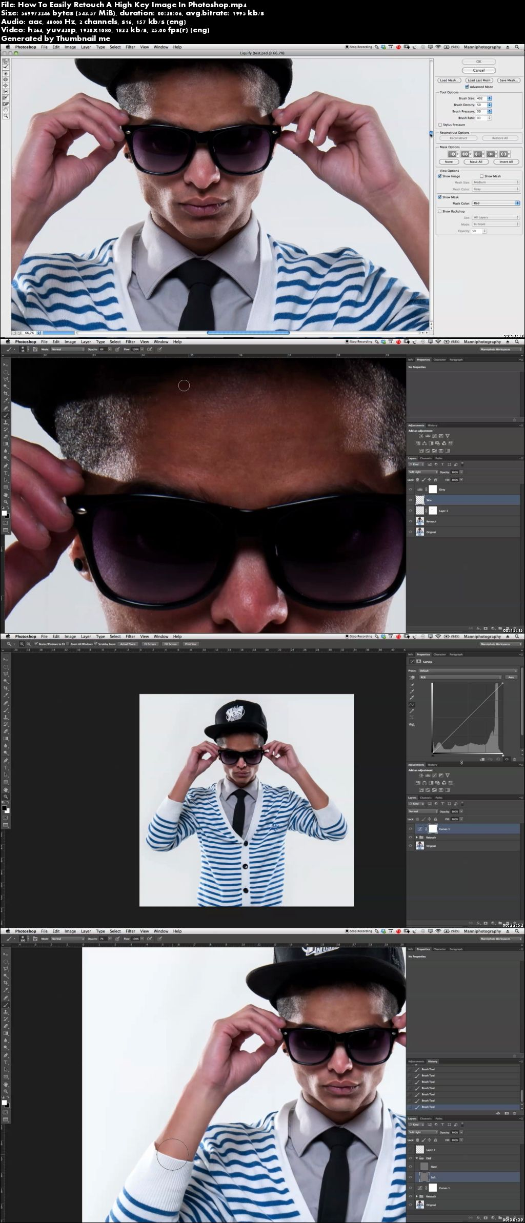 How To Easily Retouch A High Key Image In Photoshop