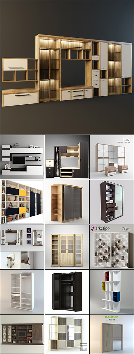 Modern Wardrobe & Display Cabinets