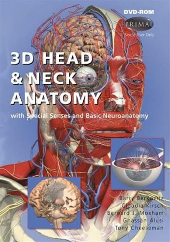 3D Head and Neck Anatomy with Special Senses and Basic Neuroanatomy