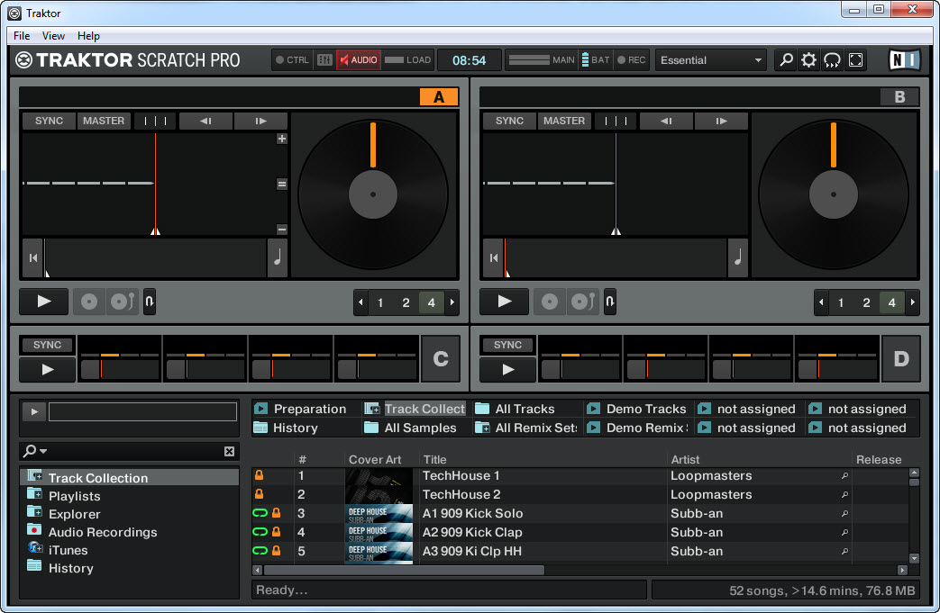 Native Instruments Traktor Pro 2 v2.8.0
